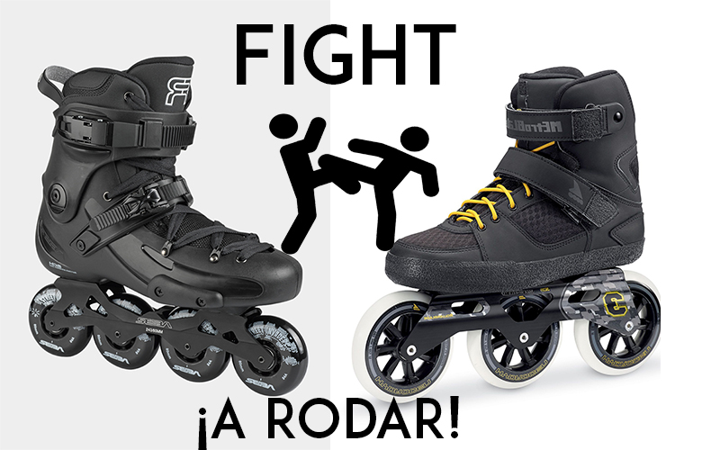 Seba Fr1 vs Rollerblade Urban Metroblade